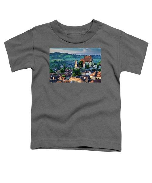 Biertan Church Dawn - Romania Toddler T-Shirt