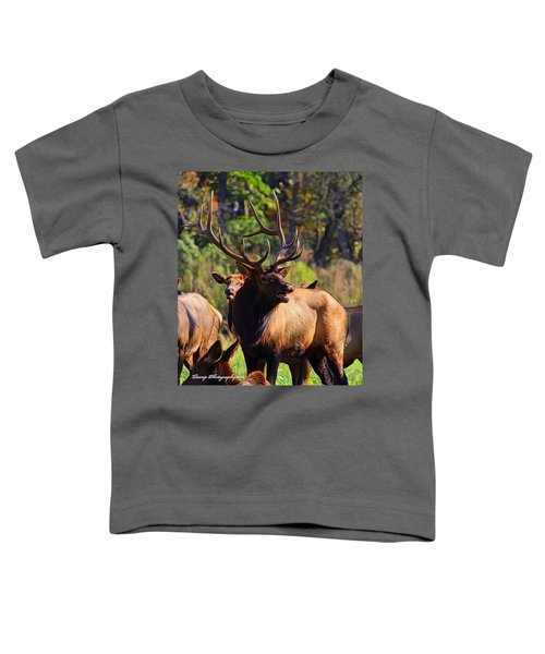 Big Elk Toddler T-Shirt