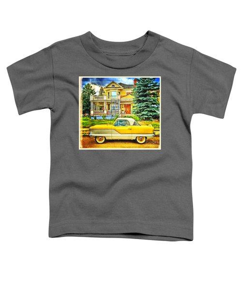 Big Yellow Metropolis Toddler T-Shirt