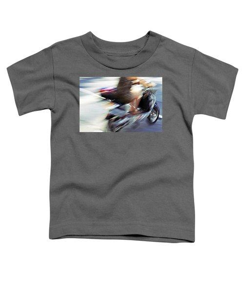 Bike In Motion Toddler T-Shirt