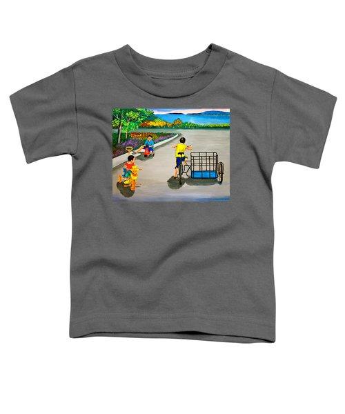 Bikes Toddler T-Shirt