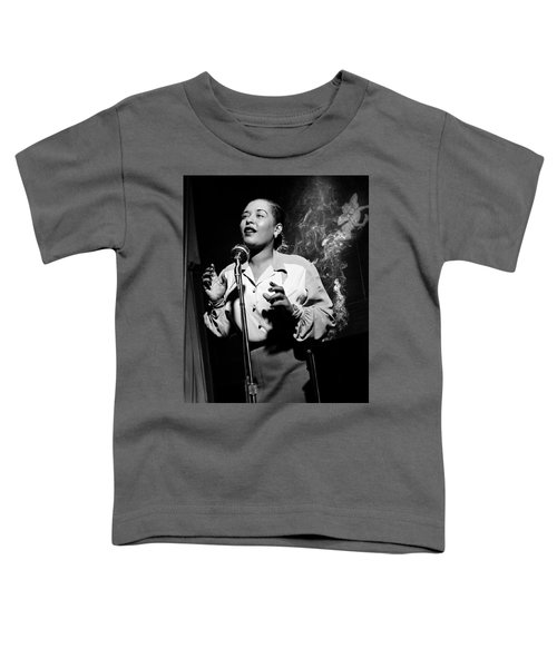 Billie Holiday  New York City Circa 1948 Toddler T-Shirt
