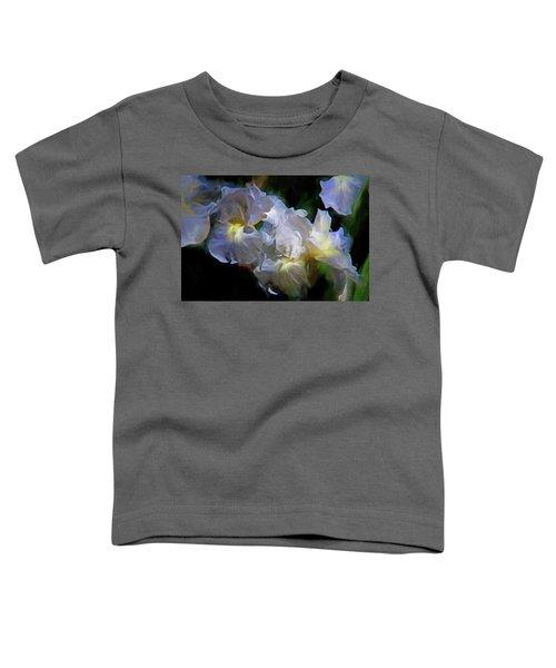 Billowing Irises Toddler T-Shirt