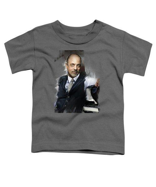 Billy Joel Toddler T-Shirt