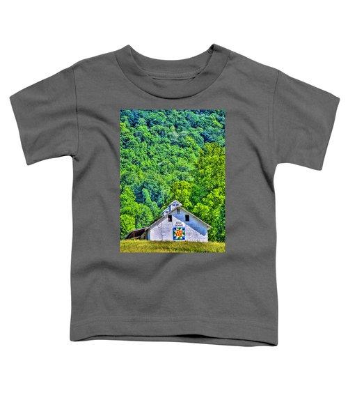 Bioloxi Fox Chase Quilt Toddler T-Shirt