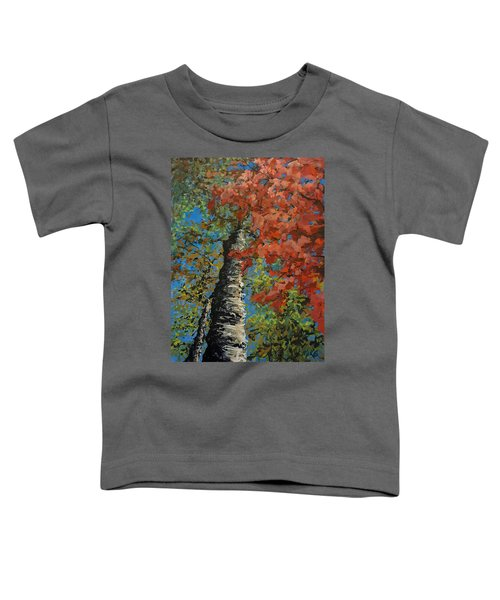 Birch Tree - Minister's Island Toddler T-Shirt