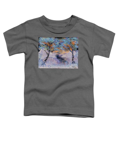 Birch Trees On The Ridge 2 Toddler T-Shirt