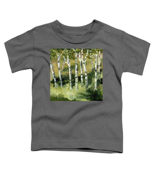 Birches On A Hill Toddler T-Shirt