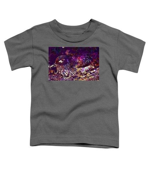 Bird Cassins Auklet Crested Birds  Toddler T-Shirt