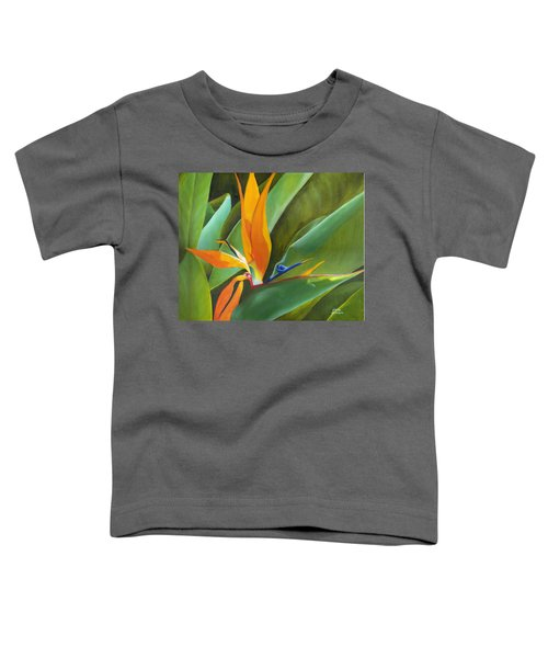 Bird Of Paradise Toddler T-Shirt