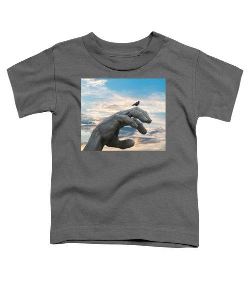 Bird On Hand Toddler T-Shirt