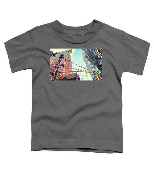 Birds In New York City Toddler T-Shirt