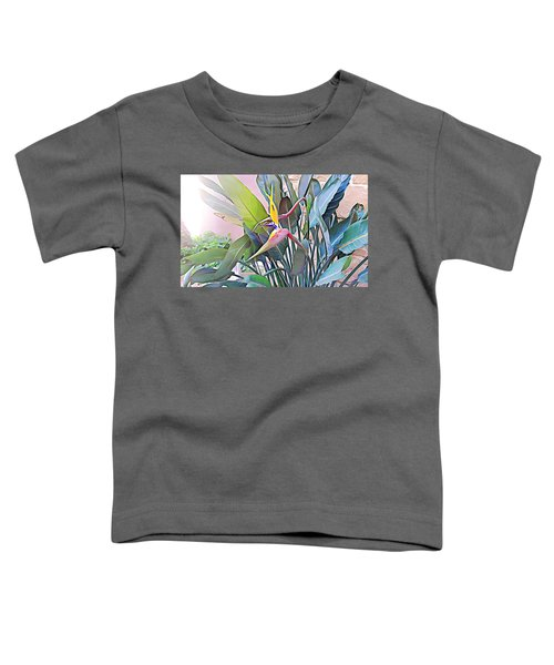 Birds Of Paradise  Toddler T-Shirt