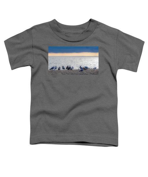 Birds On A Beach Toddler T-Shirt