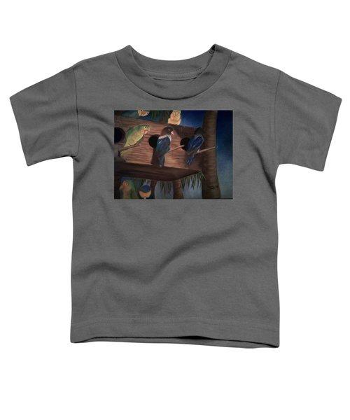 Birds Resting Toddler T-Shirt