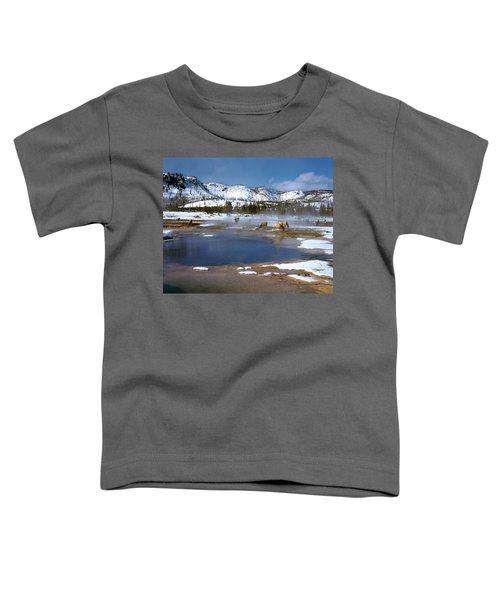 Biscuit Basin Elk Herd Toddler T-Shirt