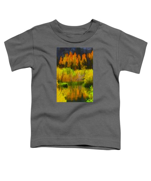 Bishop Creek Aspens Toddler T-Shirt