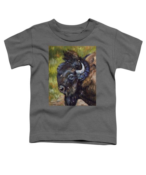Bison Study 5 Toddler T-Shirt