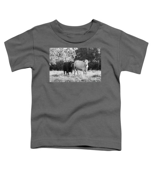 Black And White Cows Toddler T-Shirt