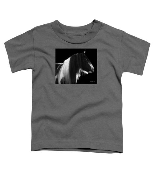 Black And White Mare Toddler T-Shirt