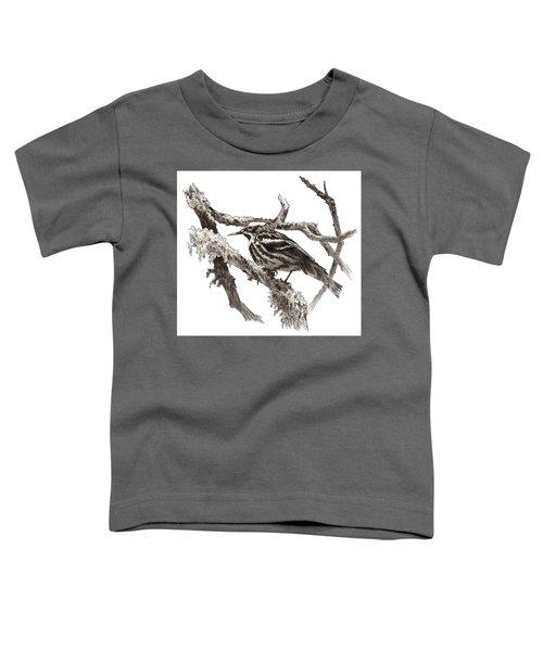Black-and-white Warbler Toddler T-Shirt