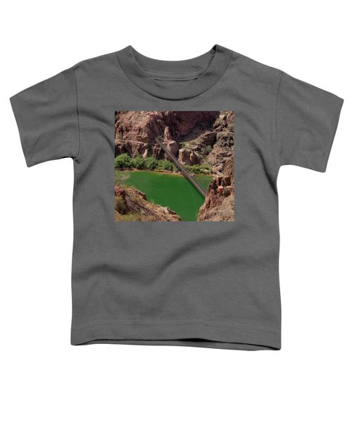 Black Bridge, Grand Canyon  Toddler T-Shirt