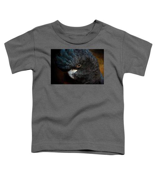 Black Cockatoo Toddler T-Shirt