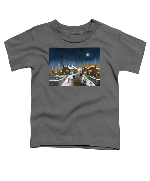 Black Country Winter Toddler T-Shirt