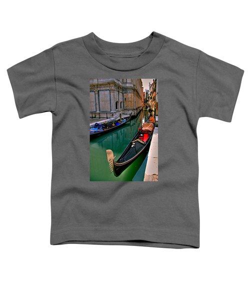Black Gondola Toddler T-Shirt