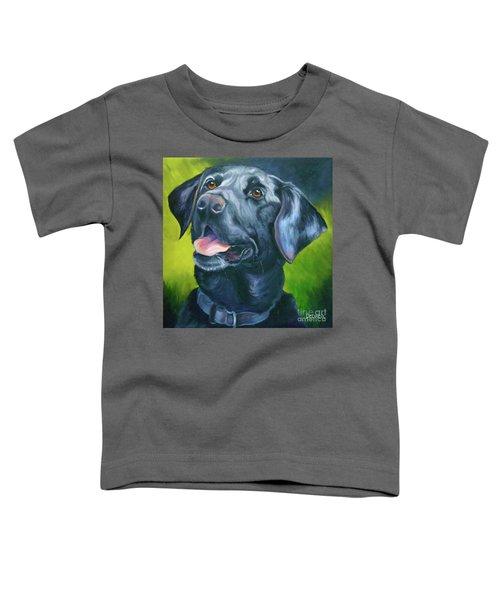 Black Lab Forever Toddler T-Shirt
