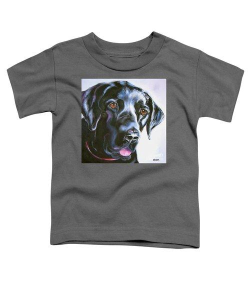 Black Lab No Ordinary Love Toddler T-Shirt