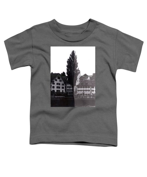Black Lucerne Toddler T-Shirt