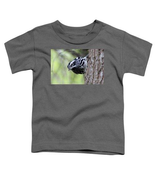 Black-n-white Warbler Toddler T-Shirt