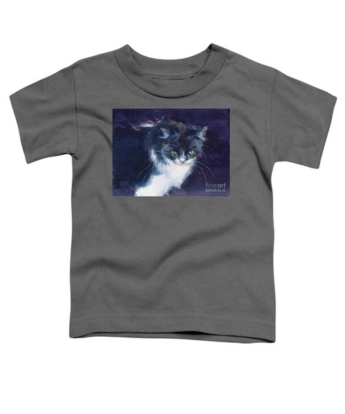 Black On Blacl Toddler T-Shirt