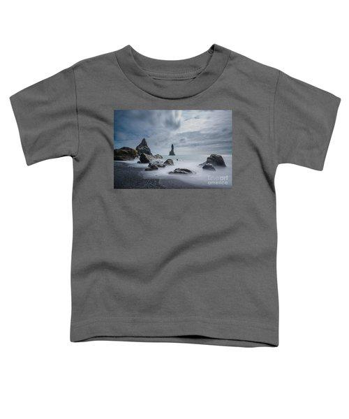 Black Stone Beach  Toddler T-Shirt