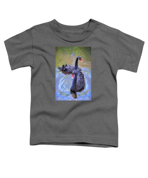 Black Swans Toddler T-Shirt