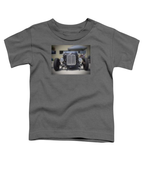 Black T-bucket Toddler T-Shirt