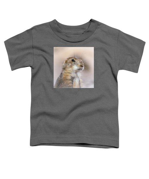Black Tail Prairie Dog Toddler T-Shirt