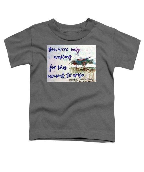 Blackbird Toddler T-Shirt