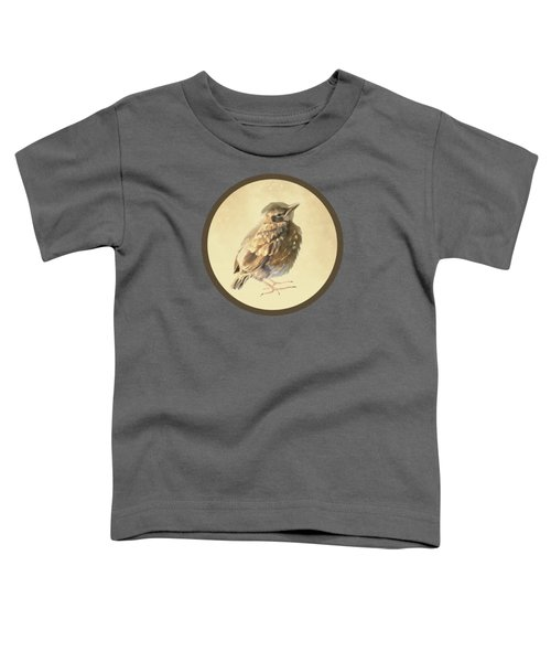 Blackbird Fledgeling Toddler T-Shirt by Bamalam  Photography