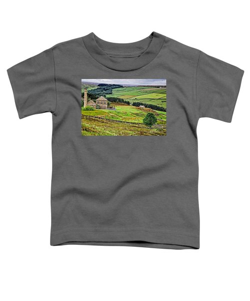 Blanchland Moor Pumphouse Toddler T-Shirt