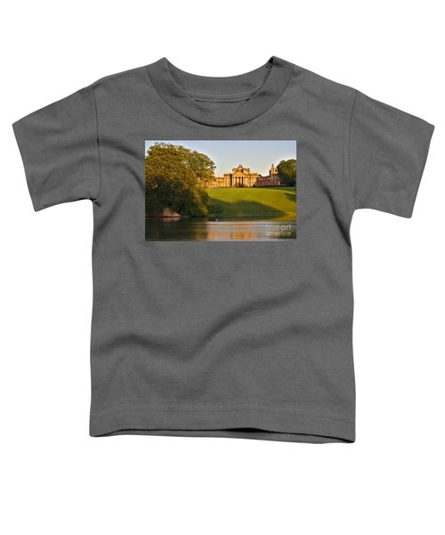 Blenheim Palace And Lake Toddler T-Shirt