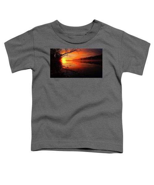 Blind River Sunrise Toddler T-Shirt