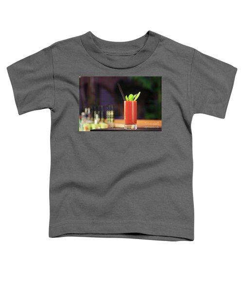Bloody Mary Forever Toddler T-Shirt by Ekaterina Molchanova