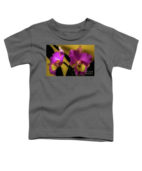 Blooming Cattleya Orchids Toddler T-Shirt