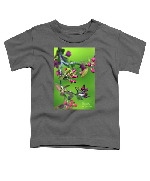 Blooming Spring Poetry Toddler T-Shirt
