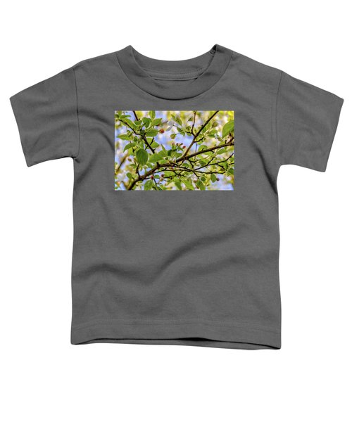 Blossoms And Leaves Toddler T-Shirt