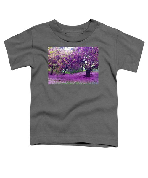 Blossoms In Central Park Toddler T-Shirt