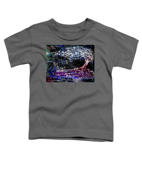Blowing Tree Toddler T-Shirt