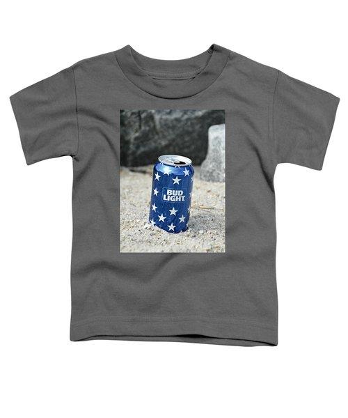Blue Bud Light Toddler T-Shirt